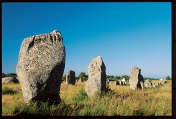 Les alignements de Kermario font partie de la megalithe de Carnac.